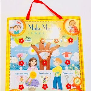 """""""Make My Day"""" Preschool/Kinder Daily Learning Tool"""
